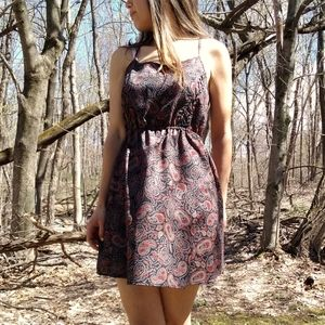 Urban Outfitters Paisely Summer Dress Fit Flare